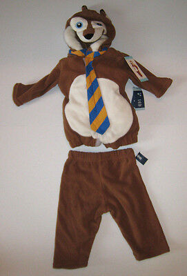 Old Navy Fox Costume Halloween 6 months - 12 months 2 Piece New - Old Navy Halloween Costumes