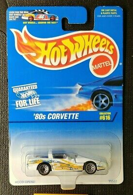 Hot Wheels 1997 Collector #616, Mainline, '80's Corvette - China Base [66]