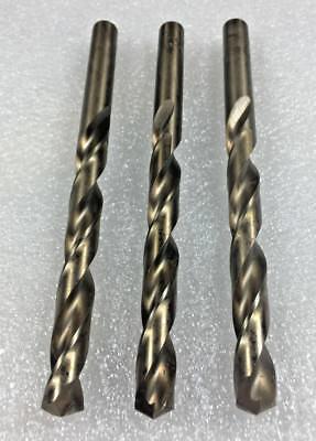 2pc Number 10 USA PARABOLIC Twist Drill Bits Jobbers 135 deg Split Point Tip #10