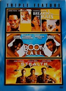 Jamie Foxx Triple Feature: Breakin All The Rules / Booty Call / Stealth NEW 3DVD