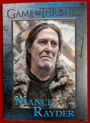 GAME OF THRONES - Season 4 - Card #66 - MANCE RAYDER - Rittenhouse 2015