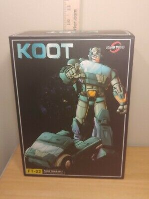 Fans Toys Koot FT-22 Fanstoys Transformers 3rd Party Masterpiece Kup USA Seller