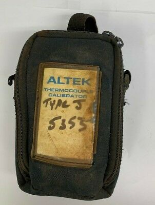 Transcat Altek 22754t Thermocouple Calibrator Type J Process
