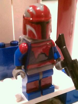 Lego Star Wars Obiwan Kanobi In Mandolorian Super Commando Custom Darth Maul
