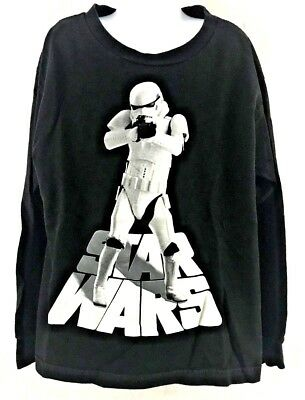 - Star Wars Stormtrooper Long Sleeve Kids Youth Cotton T-Shirt Size Small