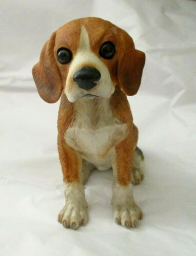 "VTG Gorham Beagle Dog Natures Gallery Ceramic Figurine 5.5"" Japan Label Attached"