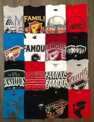 Men's Famous Stars and Straps Cotton T-Shirt (Famous Mans T-shirts)