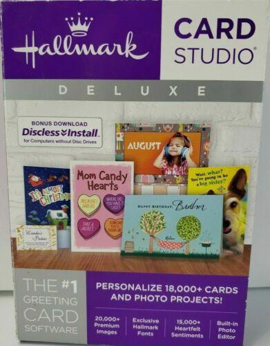 Hallmark Card Studio Deluxe 2016 Works w/ Windows 10 - Brand New Sealed
