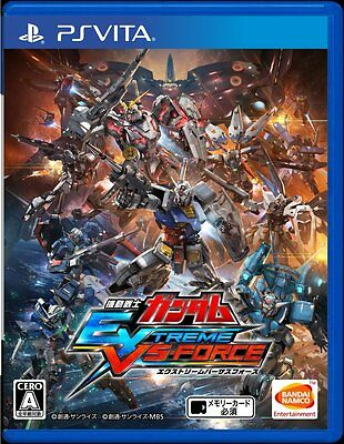 Used PS VITA Mobile Suit Gundam EXTREME VS-FORCE Region Free import Japan