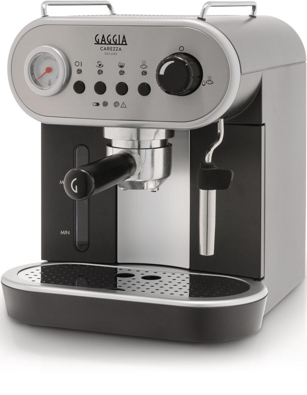OPEN BOX Gaggia Carezza De Luxe Espresso Machine, Silver