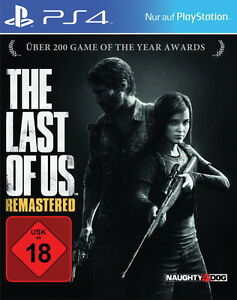 The-Last-of-Us-remastered-ps4-allemand-Sony-PlayStation-4-NEUF-neuf-dans-sa-boite