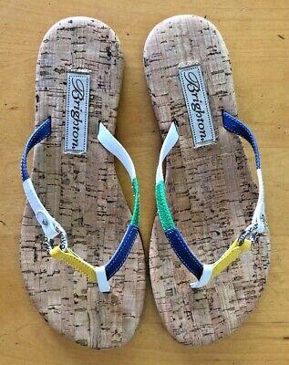 olor Flip Flop Sandals w Starfish Charm ~ Size 6 ~ EUC! (Flip Flop Charme)