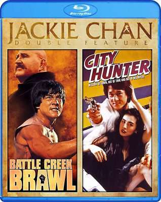 New  Jackie Chan   Battle Creek Brawl City Hunter Double Feature Blu Ray
