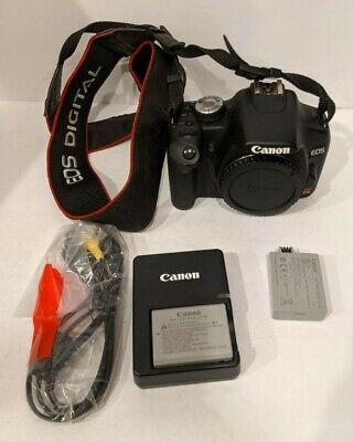 Canon EOS Rebel T1i / EOS 500D 15.1MP Digital SLR Camera - Black (Body Only)