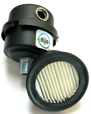 Solberg Fs-04-025 Filter Silencer 14 Inlet 2-34 Tall X 2-38 Wide Usa Made