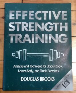 Effective Strength Training - Brooks 2001 Mortdale Hurstville Area Preview