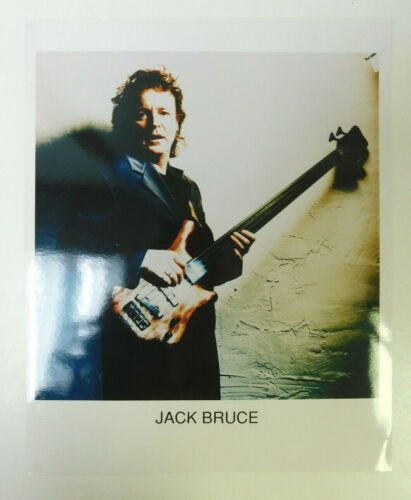 Jack Bruce - Color Press Photo - Cream - Glossy 8x10