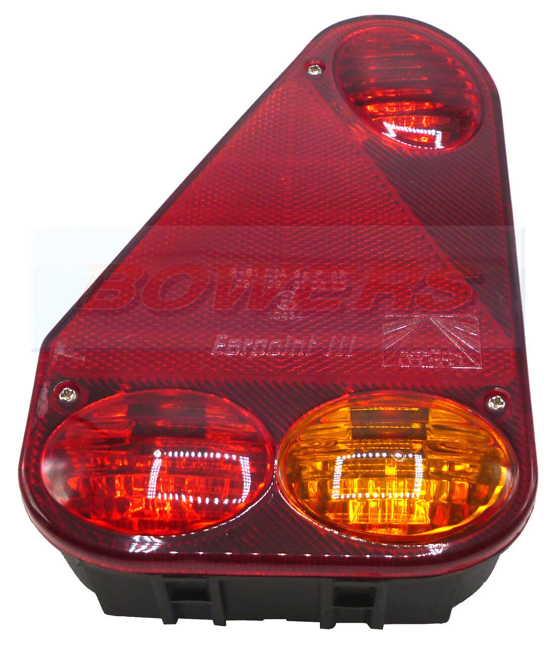 ASPOCK MULTIPOINT 5 V REAR R//H TAIL LIGHT LAMP BRIAN JAMES IFOR WILLIAMS TRAILER