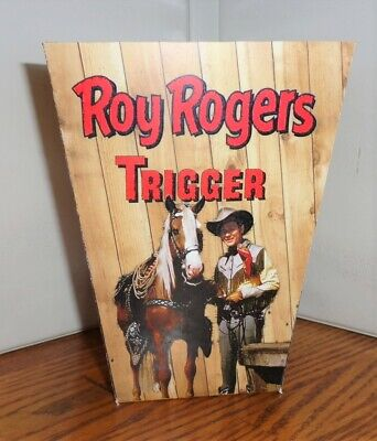 Roy Rogers Popcorn Box. Trigger....free Shipping