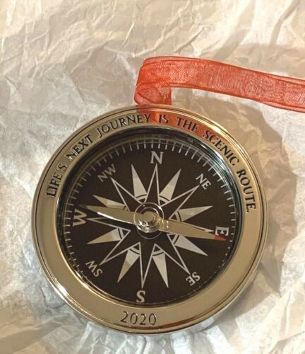 Hallmark Keepsake Working Compass Life's Next Journey 2020 Christmas Ornament