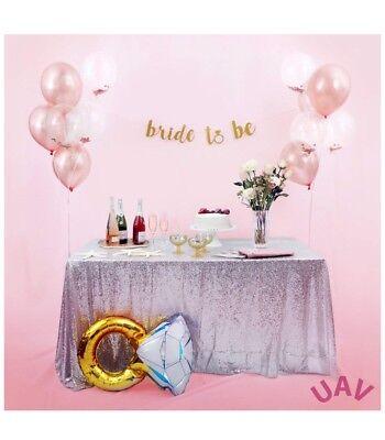 Rose Gold Bachelorette Party Decorations 12 Balloons, Tiara, Ring Balloon, Sash](Bachelorette Tiara)