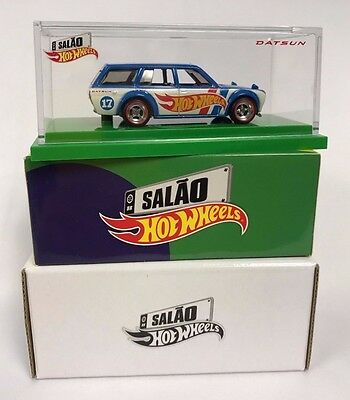 Hot Wheels '71 Datsun Bluebird 510 Wagon 2017 Brazil Convention Limited To 3,000