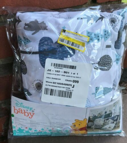 Disney Baby Forever Pooh Lambs & Ivy Crib Sheet Open Package *BB