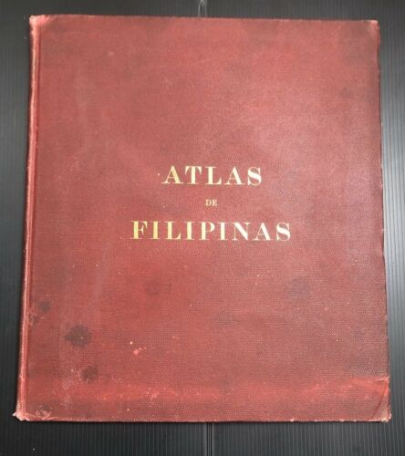 Antique 1899 Atlas de Filipinas/ Atlas of the Philippine Islands