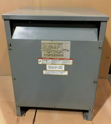 Square-D 15kva 1ph dry type Transformer HV480 x 240 LV240 x 120