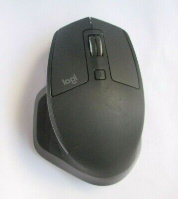 Logitech MX Master 2S Graphite Wireless Computer Laser Mouse Bluetooth - Used