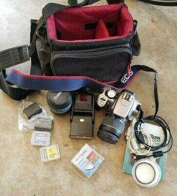 Canon EOS Digital Rebel XT Camera Bundle (pictured)