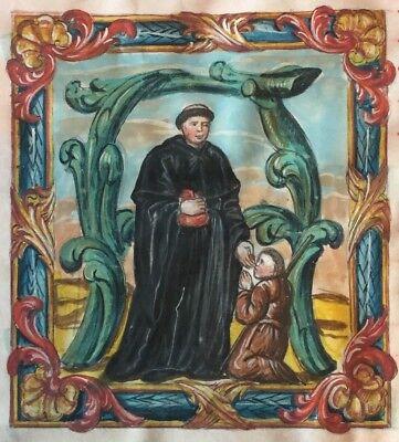 Antiphonar HEILIGER THOMAS, wohl Ende 16. Jhdt., Pergament, 65cm x 44cm!