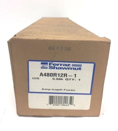 Ferraz Shawmut Amp-Trap FUSE  2400/4800 Volt Fuse A480R12R-1  50/60Hz NEW in Box