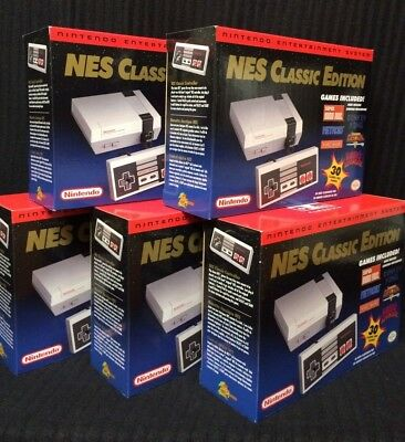 Nintendo Nes Classic Edition Mini Console   100  Authentic   Made By Nintendo