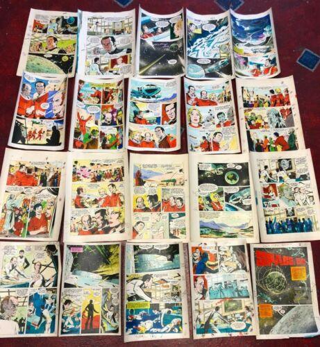 SPACE 1999 ART original color guides RARE 20 PAGE SET 1975 BOOK RECORD KOENIG