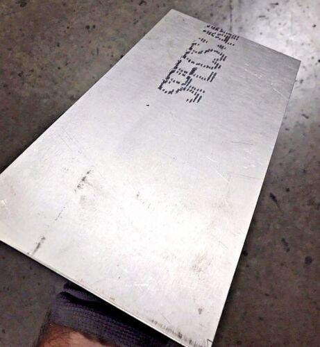 "1/8"" - Titanium Plate 6AL4V 6"" x 12"" x .125"""