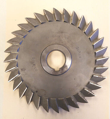 7 DIA x 5//16 Face x 1-1//4 Hole HSS Import Plain Teeth Side Milling Cutter