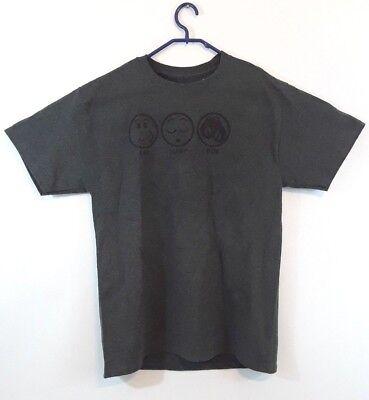EAT SLEEP BOX Short Sleeve T Shirt , Dark Gray Tagless, Boxing Training (Boxing Dark T-shirt)