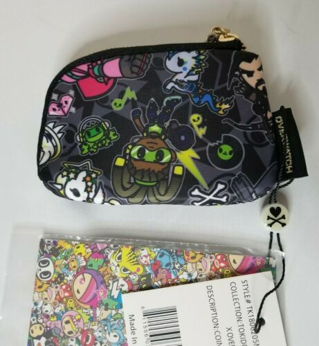 NWT Tokidoki x Overwatch Heroes Coin Purse FAST SHIPPING