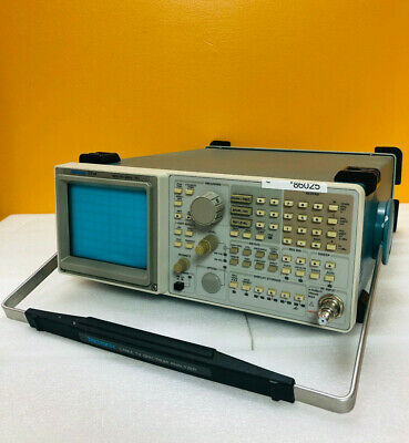 Tektronix 2714 9 Khz To 1800 Mhz 75 Ohm Catv Spectrum Analyzer.