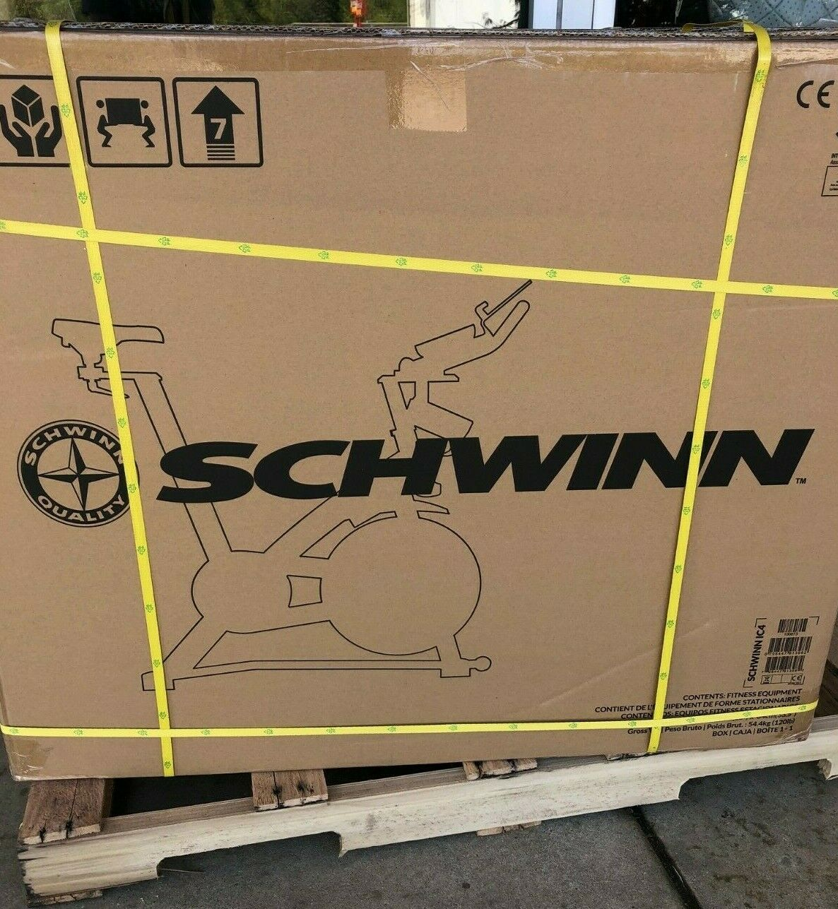 Brand New in Box Schwinn IC4 Spin Bike IN HAND READY TO SHIP