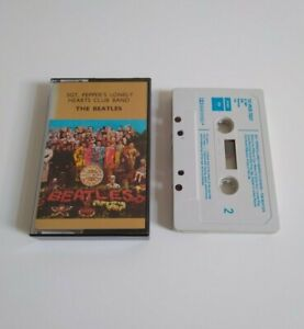 THE BEATLES SGT. PEPPERS LONELY HEARTS CLUB BAND CASSETTE TAPE PARLOPHONE 1976