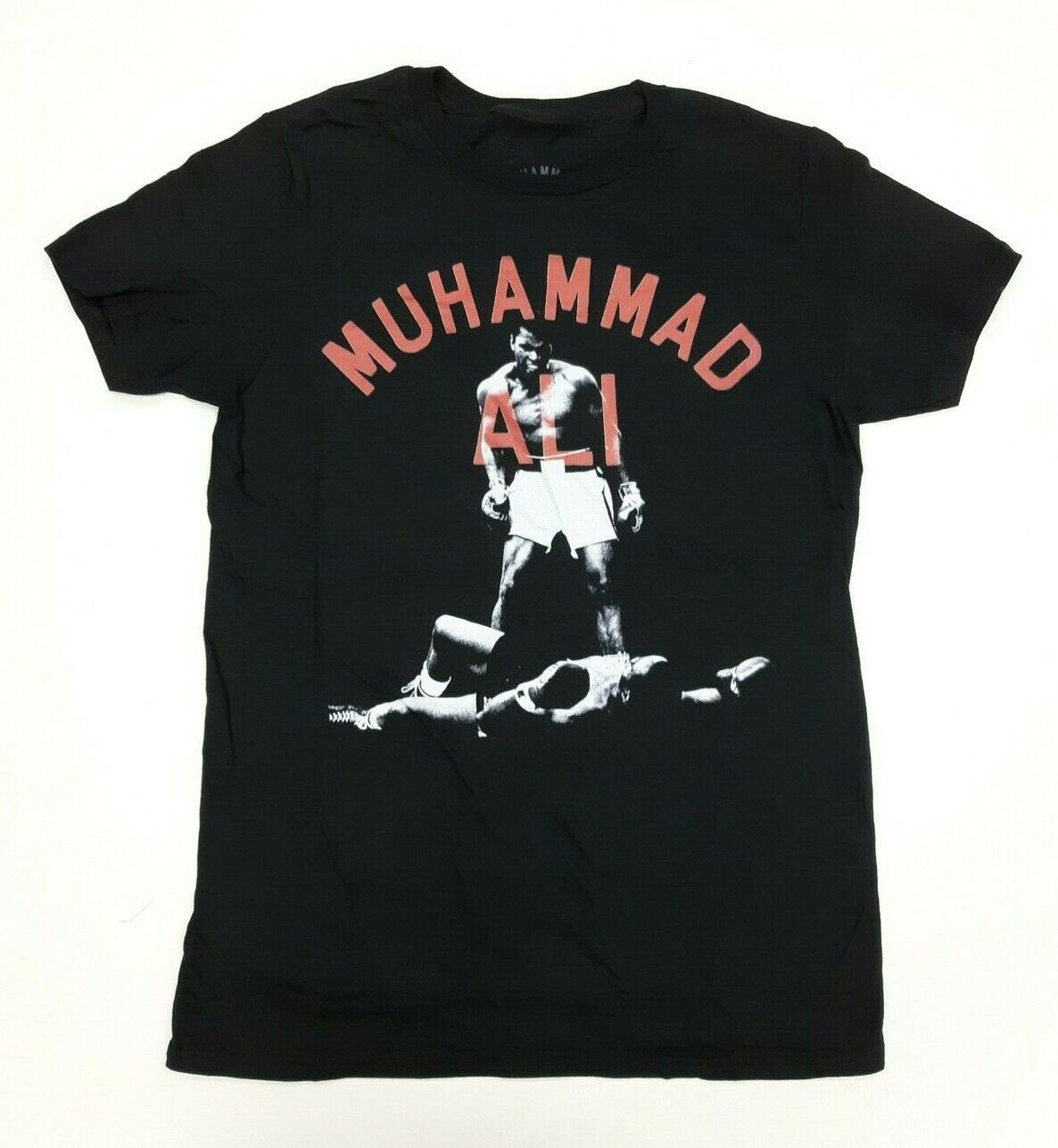 Muhammad Ali Black and White Knockout Graphic Design Men's T-Shirt Cotton (775) Clothing, Shoes & Accessories