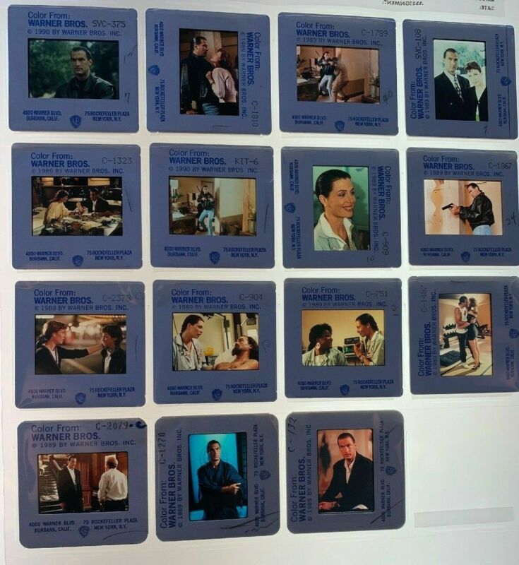 15 Hard to Kill Movie 35mm Slides Steven Seagal Press Kit Promo Vtg 1990 Lot #2
