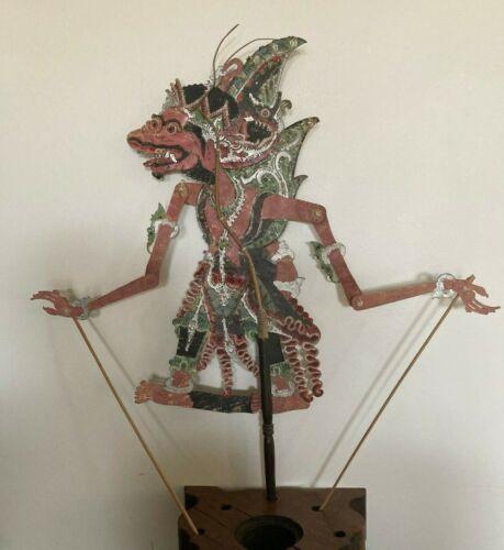 Antique/Vintage INDONESIAN Shadow PUPPET 7  Wayang Kulit