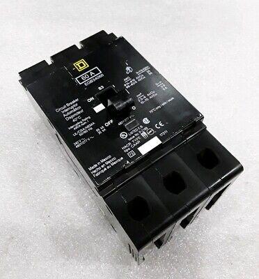 Egb34060 Square D 3pole 60amp 480v Circuit Breaker 2 Year Warranty