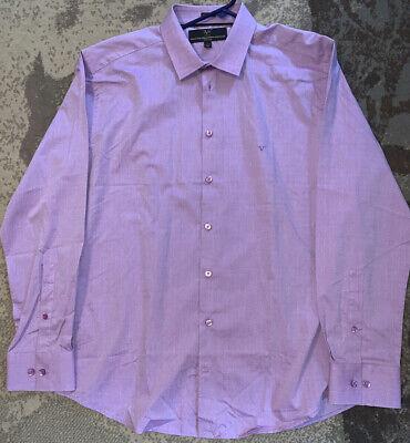 Versace 19-69 Abbigliamento Sportivo Button Up Long Sleeve Size 16 1/2