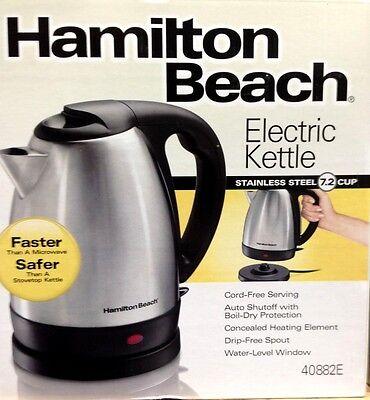 Hamilton Beach Stainless Steel 7.2 Cup Electric Tea Kettle 4