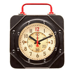 PENDULUX ENGINE ROOM WALL CLOCK SMALL WCENGSM
