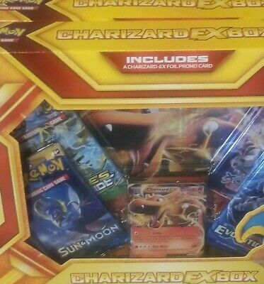 Charizard Collection EX Box - Pokemon XY - Booster Packs x4 and Flash Fire EX